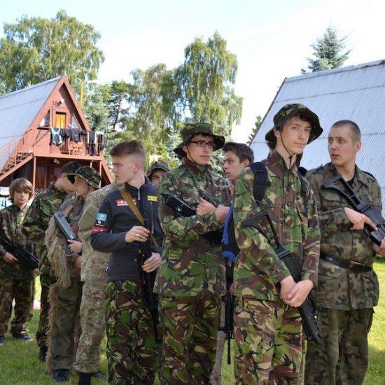 obóz wojskowy 2019
