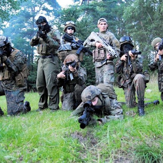 obóz militarno - survivalowy