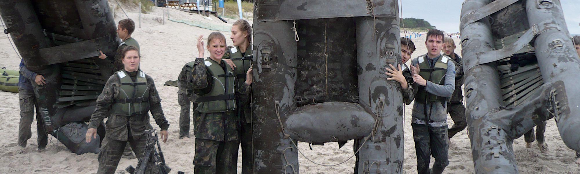 obozy wojskowe dla młodziezy