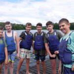 obozy nad jeziorem