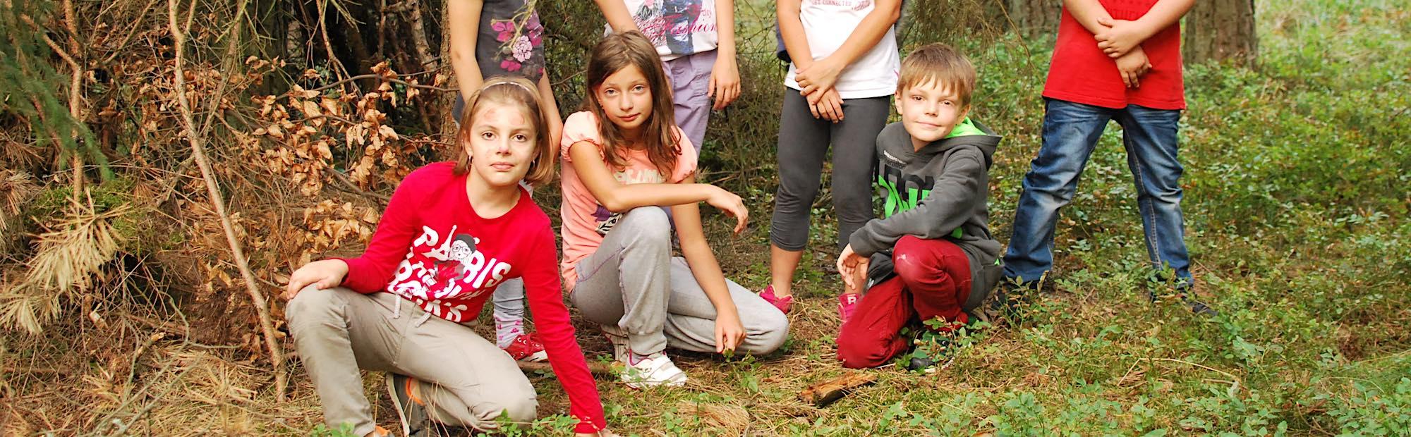 Obóz przygodowy dla dzieci