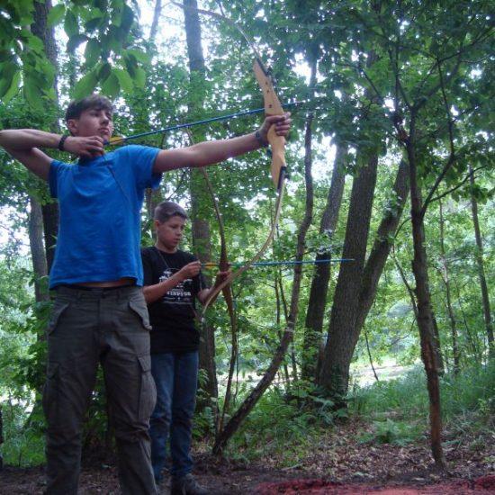 obóz survivalowy w Borach Tucholskich
