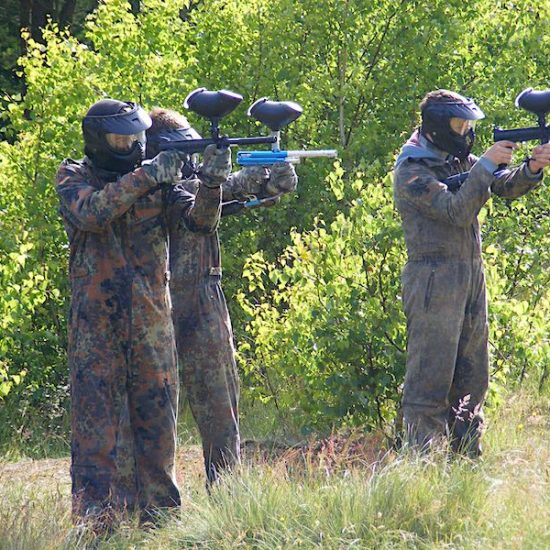 obóz paintballowy