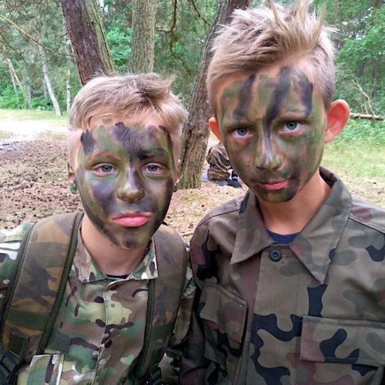 obóz paintballowy dla dzieci
