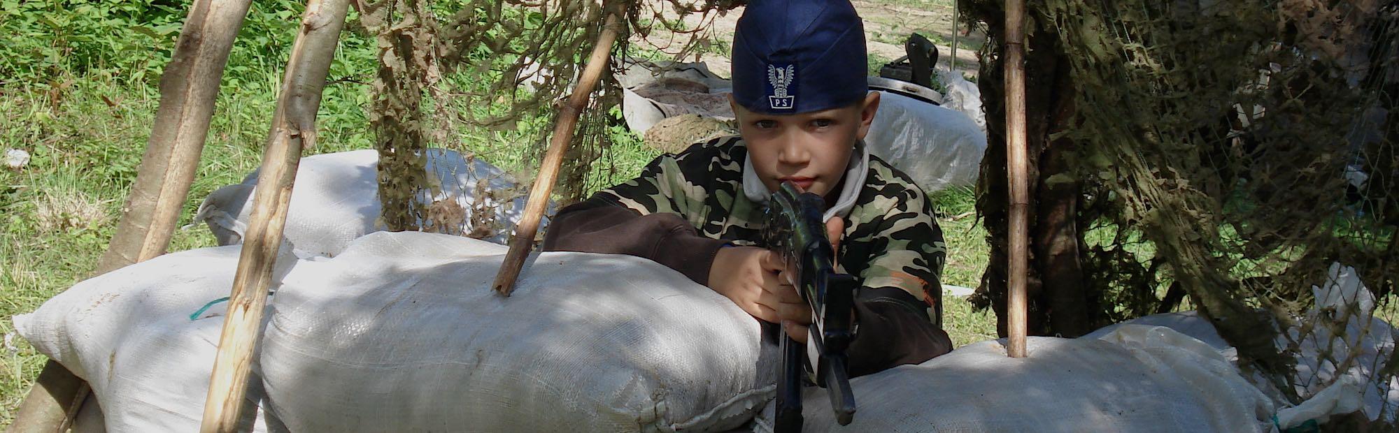 obóz militarny dla najmłodszych
