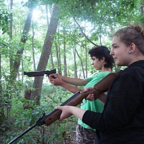 obóz survivalowy Zamrzenica