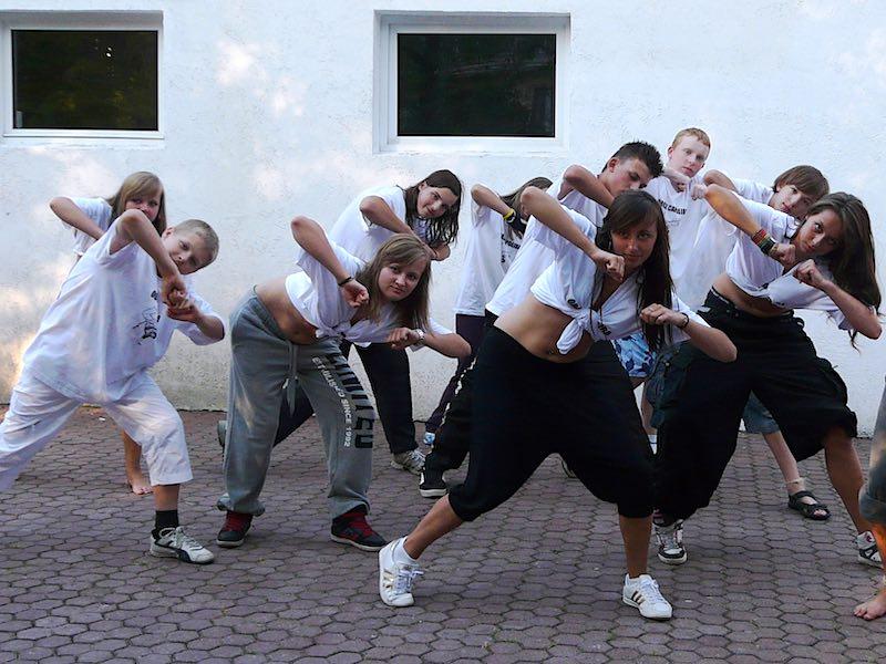 kolonie z nauką tańca