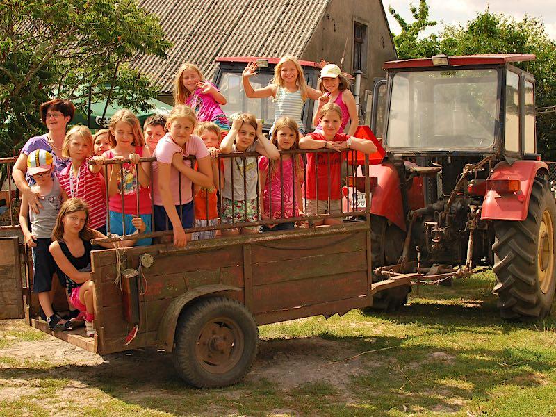 obóz dla najmłodszych dzieci