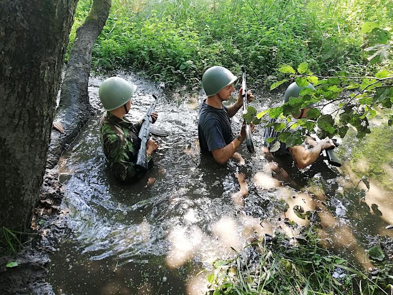 obóz wojskowy ASG
