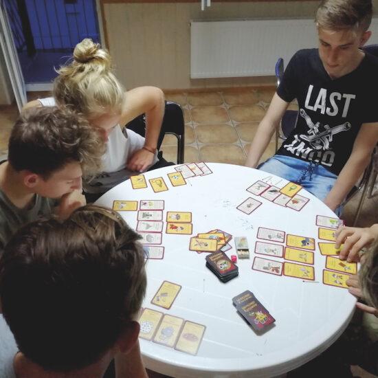 obóz dla graczy